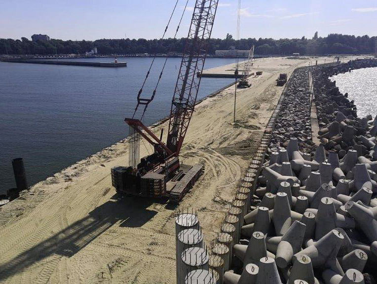 Rosmorport Completes Work at Terminal in Pionersky