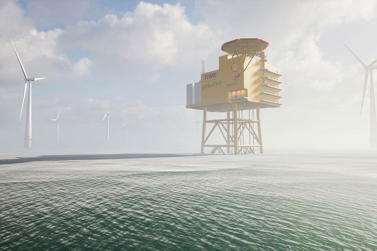 Offshore Hydrogen AquaSector Park in German North Sea
