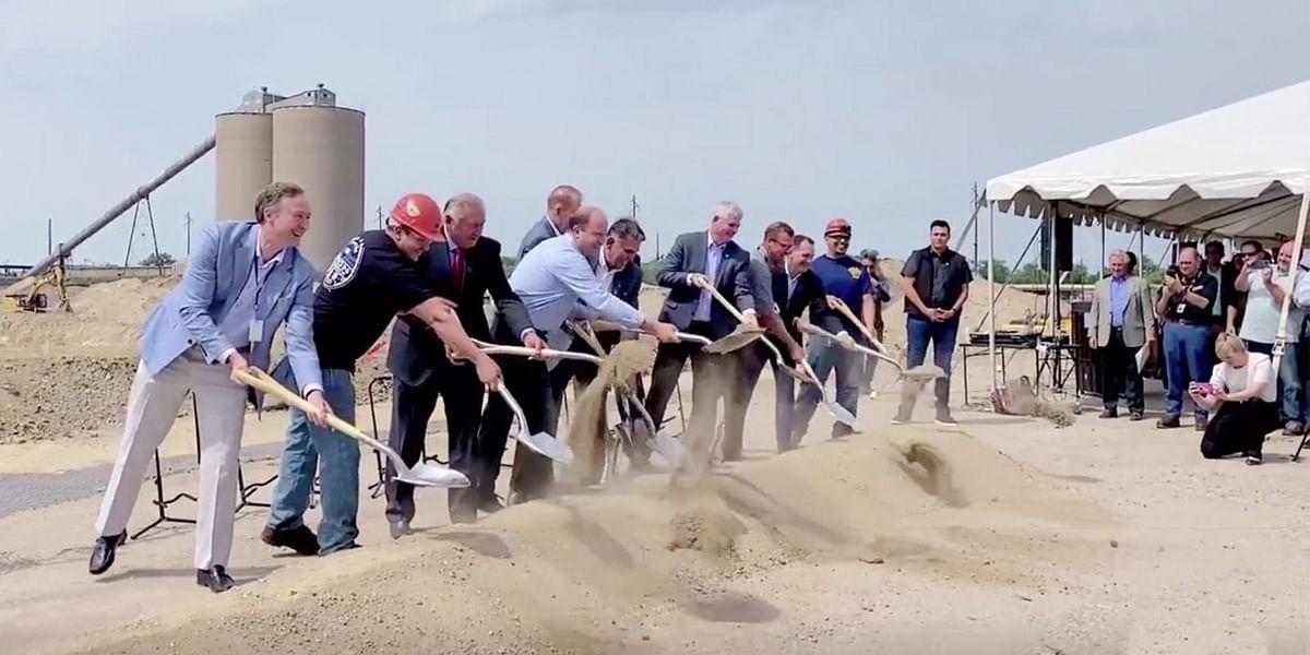 Evraz North America Breaks Ground for New Rail Mill at Pueblo