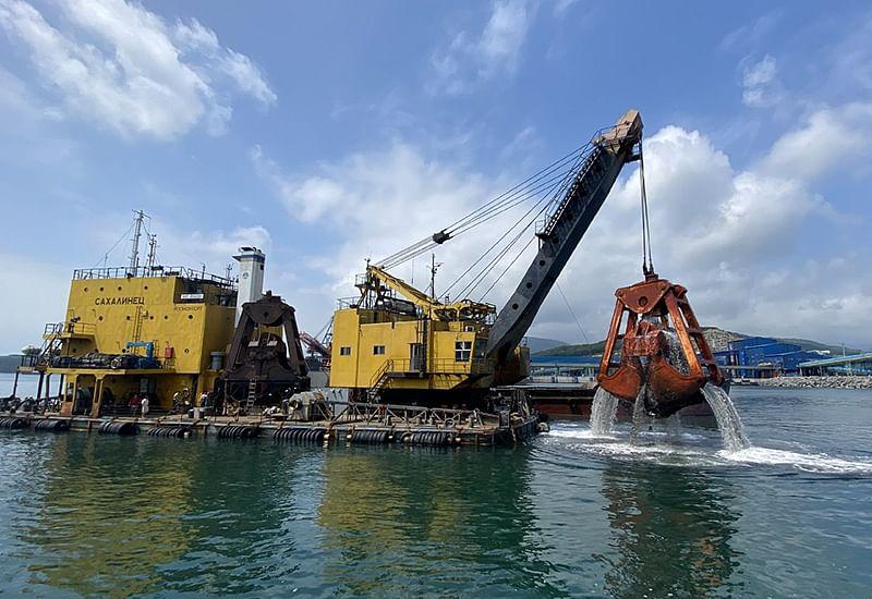 Rosmorport Completes Repair Dredging in Vostochny Port