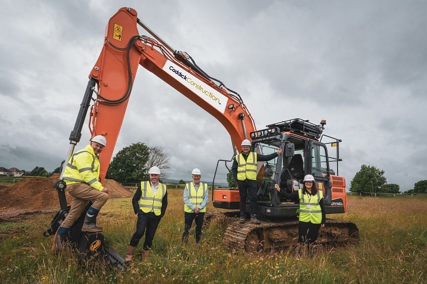 Caddick Construction Breaks Ground for Homes Derbyshire City