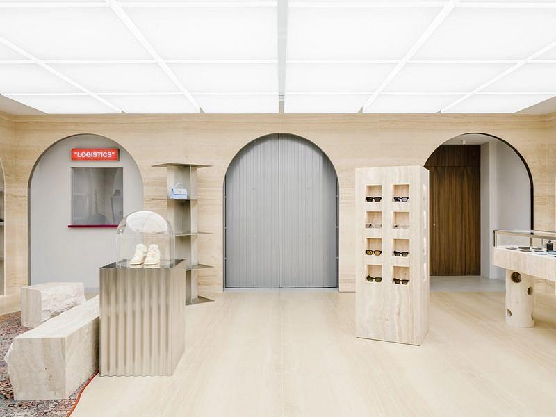 AMO Designed Off-White Flagship Store Opens in Paris