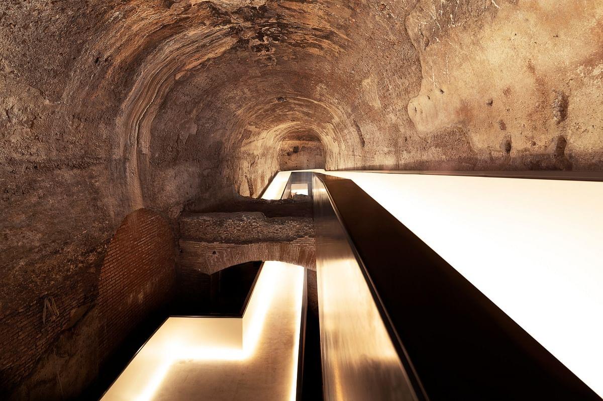 stefano Boeri Architetti Designs New Entrance for Domus Aurea