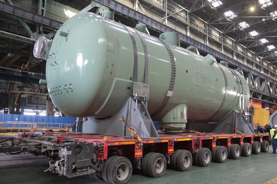 Atommash Manufactures Steam Generator for Akkuyu NPP in Turkey