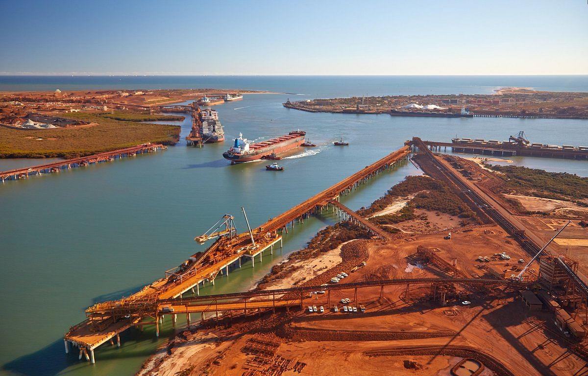 Pilbara Port Throughput in June Shrinks by 7% YoY