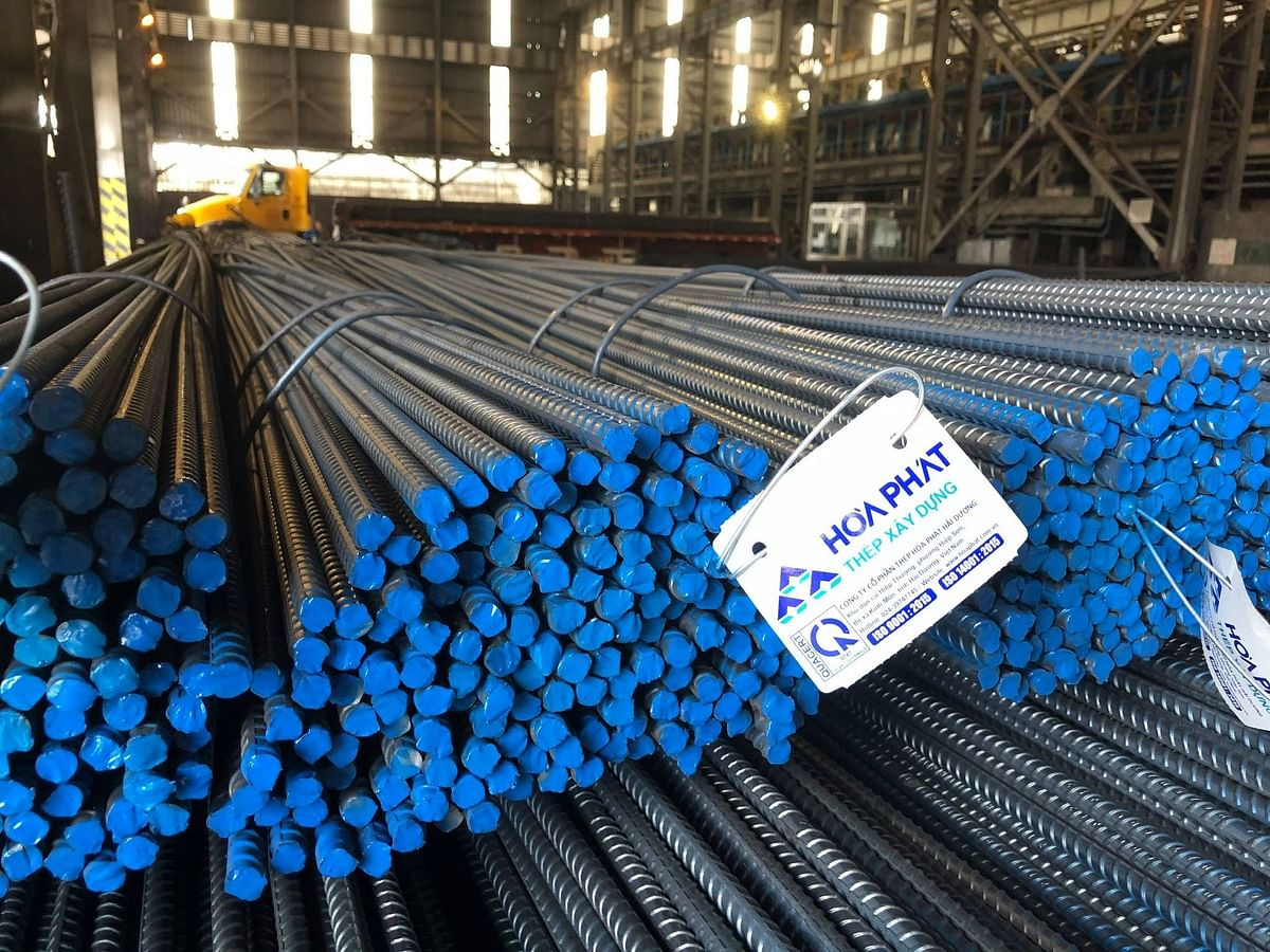 Hoa Phat Rebars Used in Several Infrastructure Project in Vietnam