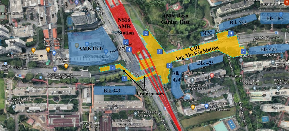 Singapore Awards Civil Contract for Ang Mo Kio Station & Tunnels