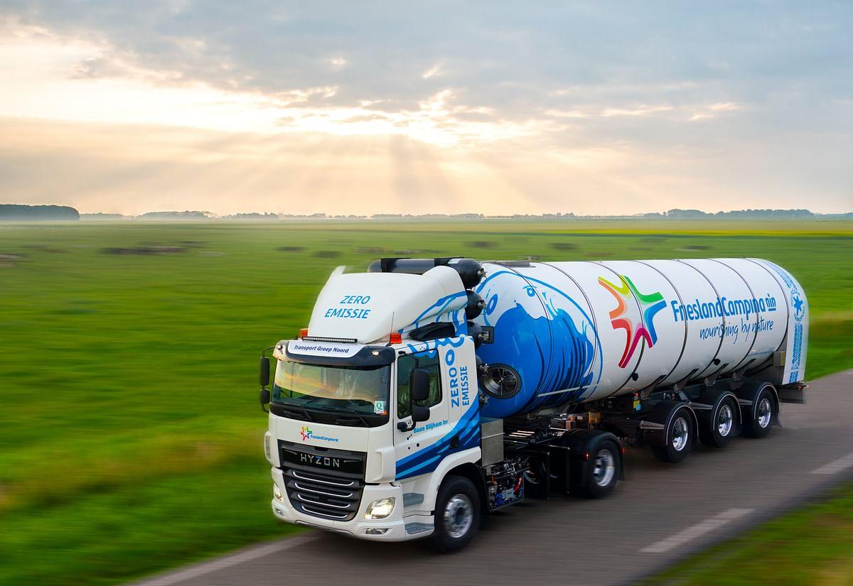 Hyzon Motors Hydrogen Truck Dairy Operations