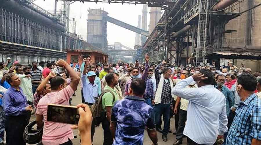 Wage Strike Disrupts Functioning of SAIL Plants