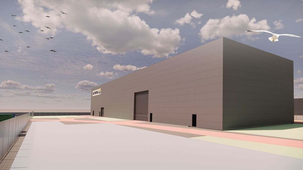 Vattenfall Builds Wind Turbines Warehouse at Port of Esbjerg