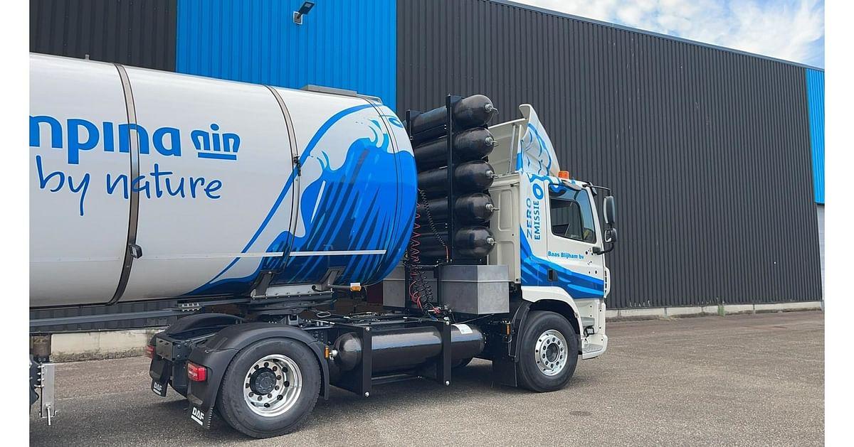 Hyzon Unveils New Hydrogen Storage System