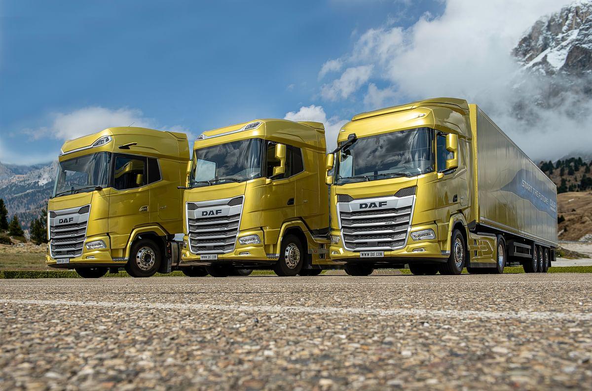 1,000 New Generation DAF Trucks Sold