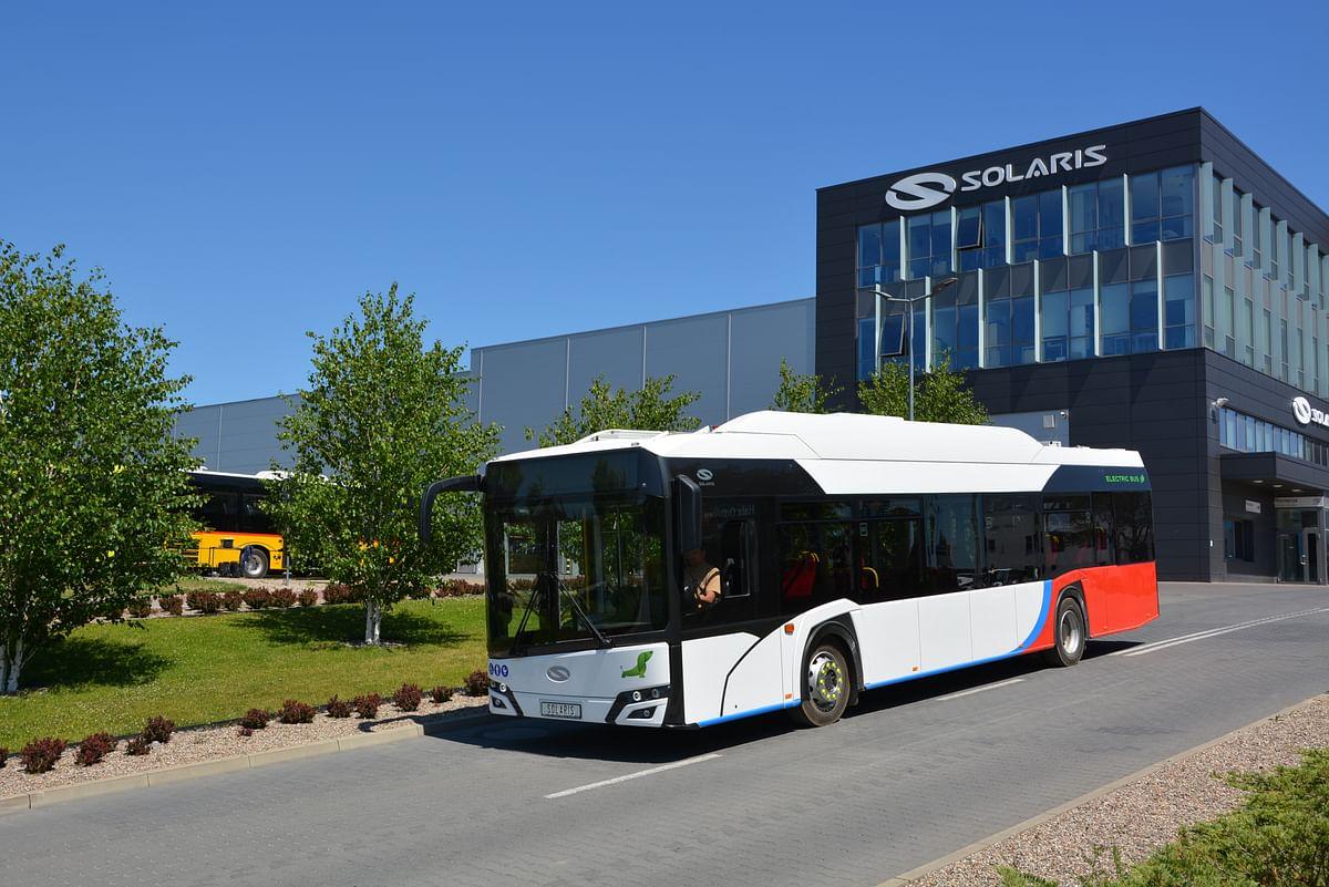 Solaris supples Six Urbino 12 Electric Buses for Malbork