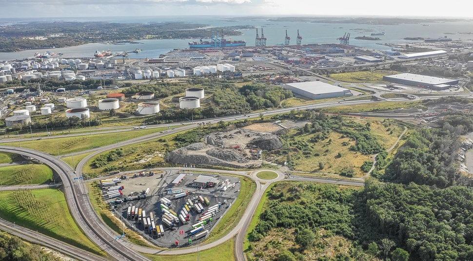 EV Charging & Hydrogen Filling Station at Port of Gothenburg