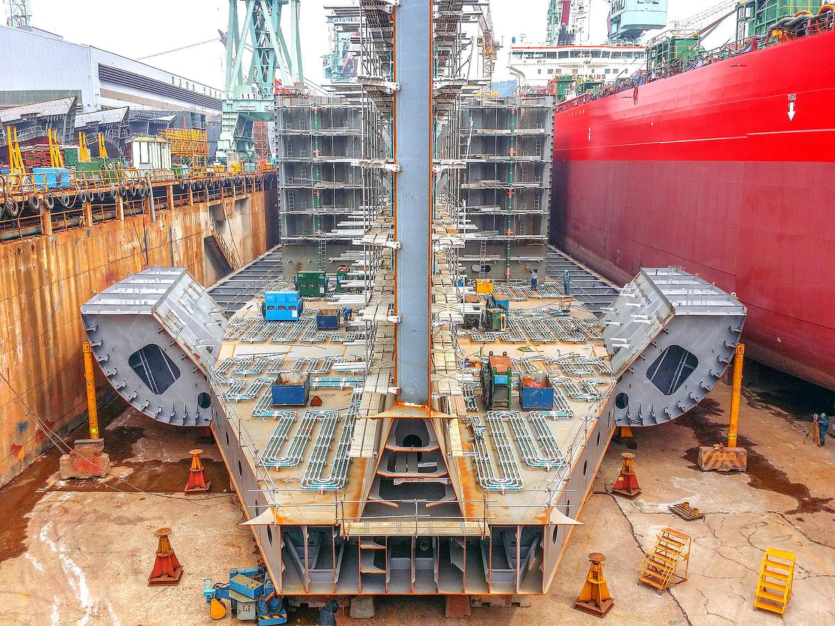 POSCO Income Skyrockets as Ship Builders Pay High Steel Bill