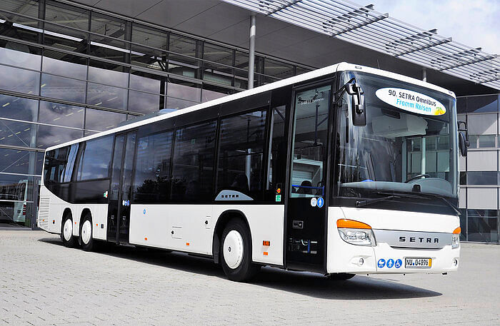 90th Setra Bus Delvered for Fromm Reisen