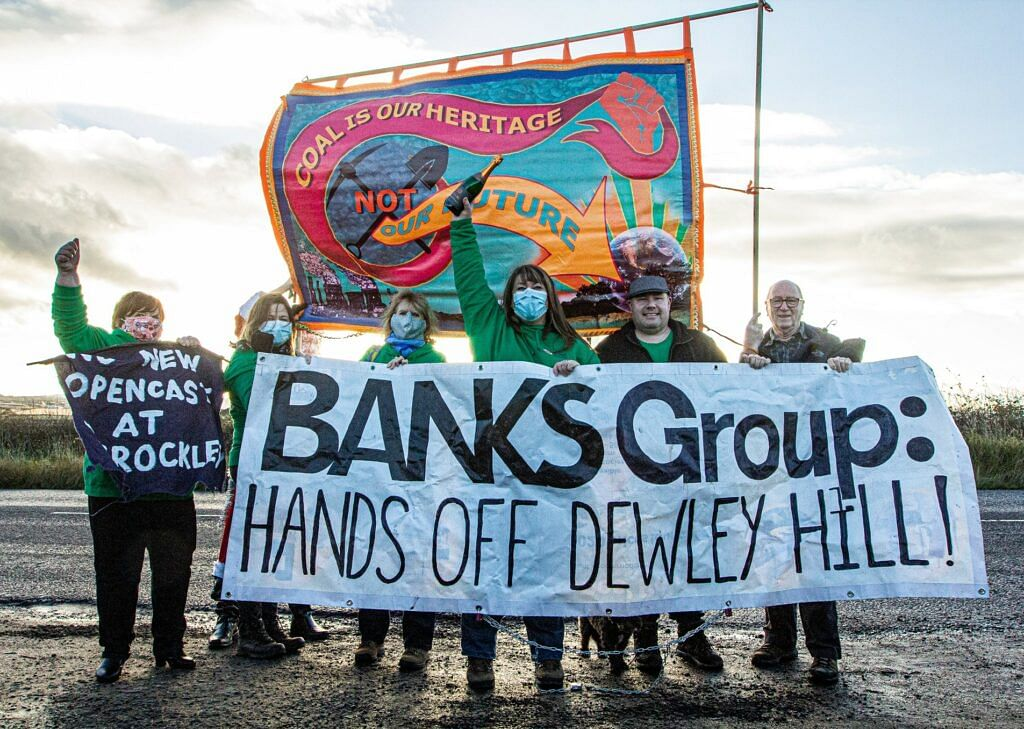 Opencast Coal Mining in UK Abolished after 80 Years