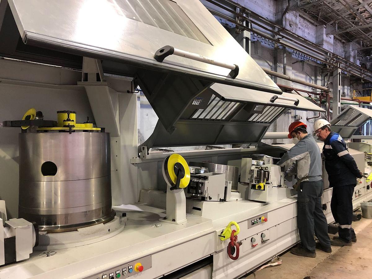 Mechel BMK Starts Installation of New Wire Drawing Equipment