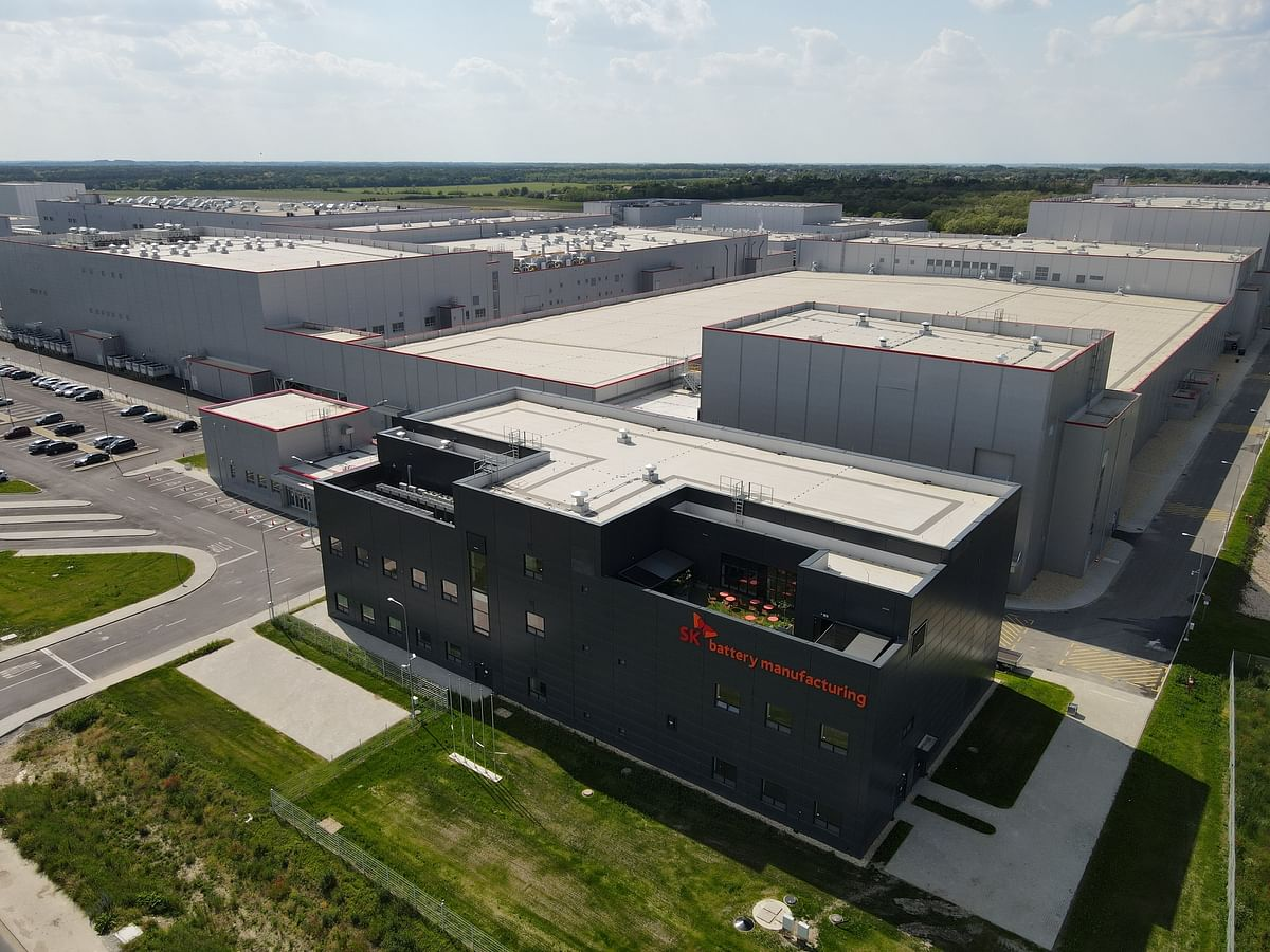 SK Innovation Secures Euro Subsidy for EV Plant in Hungary