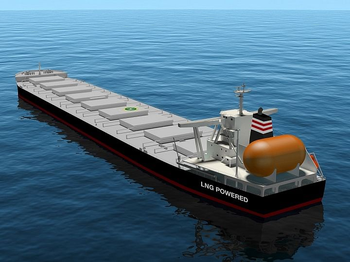JFE Steel Signs Long-term Charter for 3 LNG Fueled Ships