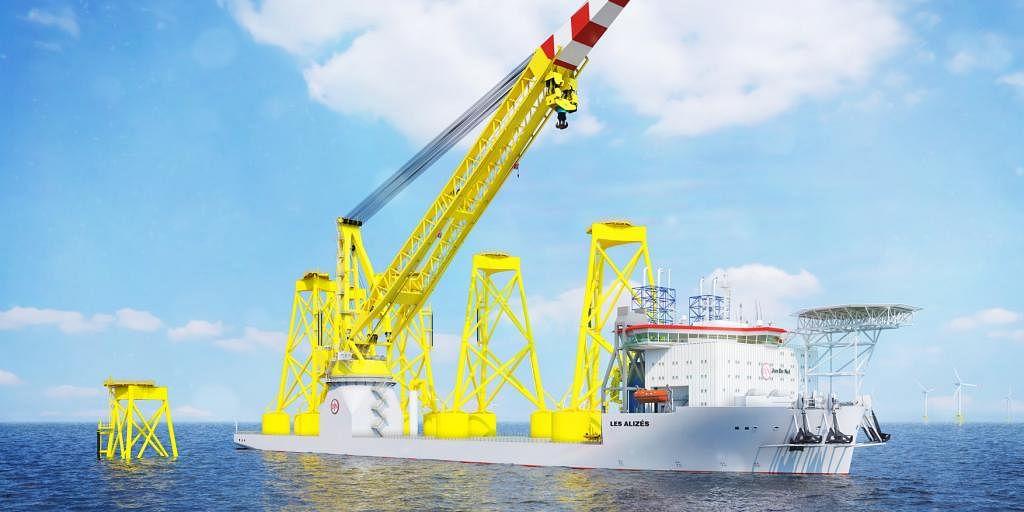 Jan De Nul Orders Pile Gripper for Installation Vessel Les Alizés