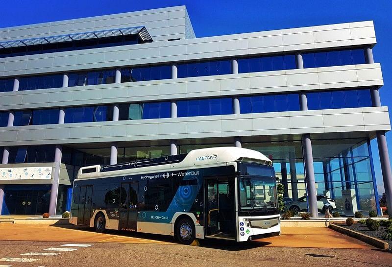 Toyota Co Brands Zero Emission Buses with CaetanoBus