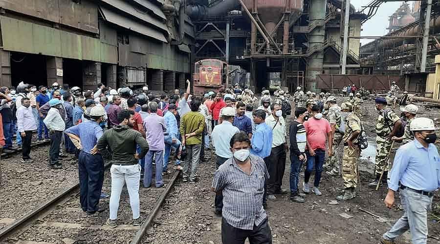 SAIL BSL Seeks Strict Actions against Strikers