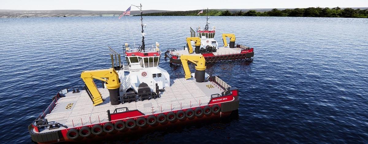 Damen & Conrad to Build Multi Cats for Great Lakes Dredge & Dock