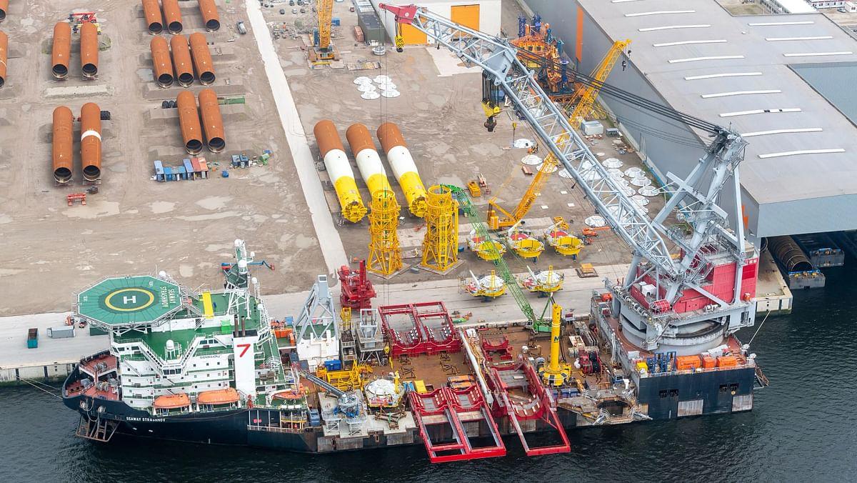 Vattenfall Starts Construction of Offshore Hollandse Kust Zuid