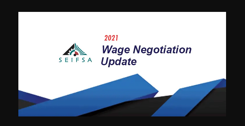 SEIFSA Tables 3 Year Wage Offer for South African Industry