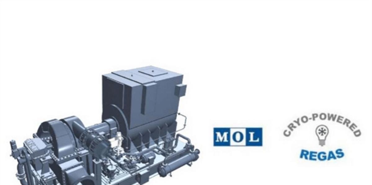 MOL & DSME Test Cryo-Powered Regas System for FSRU
