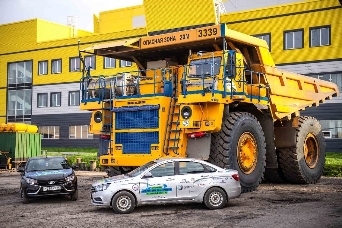ALROSA Considers Converting Heavy-Duty Vehicles to LNG