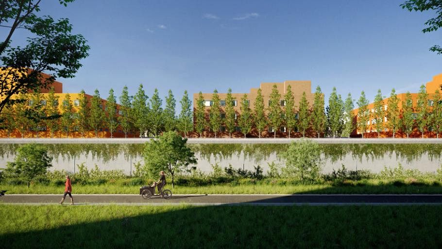 Jan De Nul & EEG Bag Construction Works for Antwerp Jail