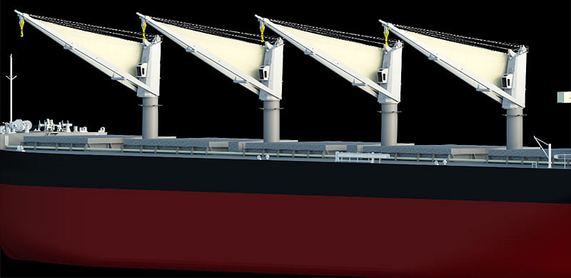 MOL Jointly Develops New Energy Saving Sail  Boost Ship Propulsion