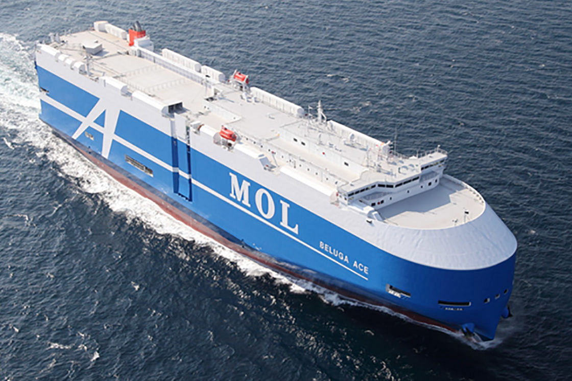 MOL Orders 4 LNG Fueled Car Carriers