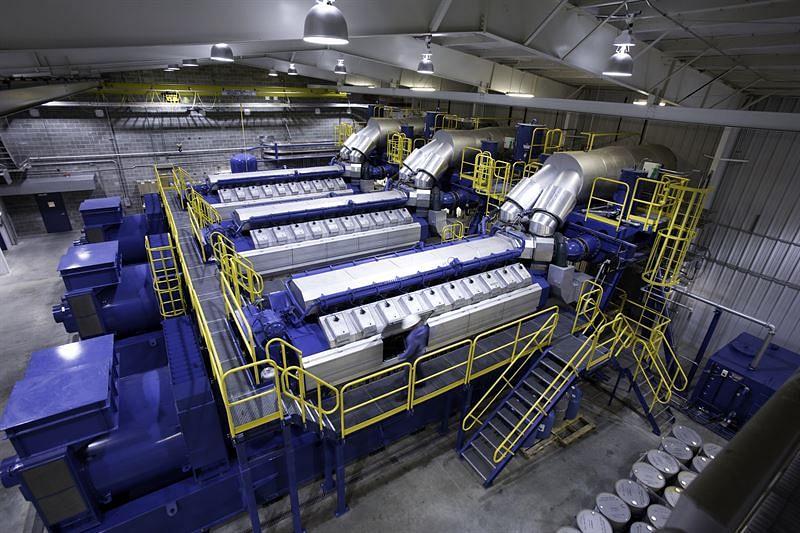 Wärtsilä Power Plant in Bangladeshi Export Processing Zone