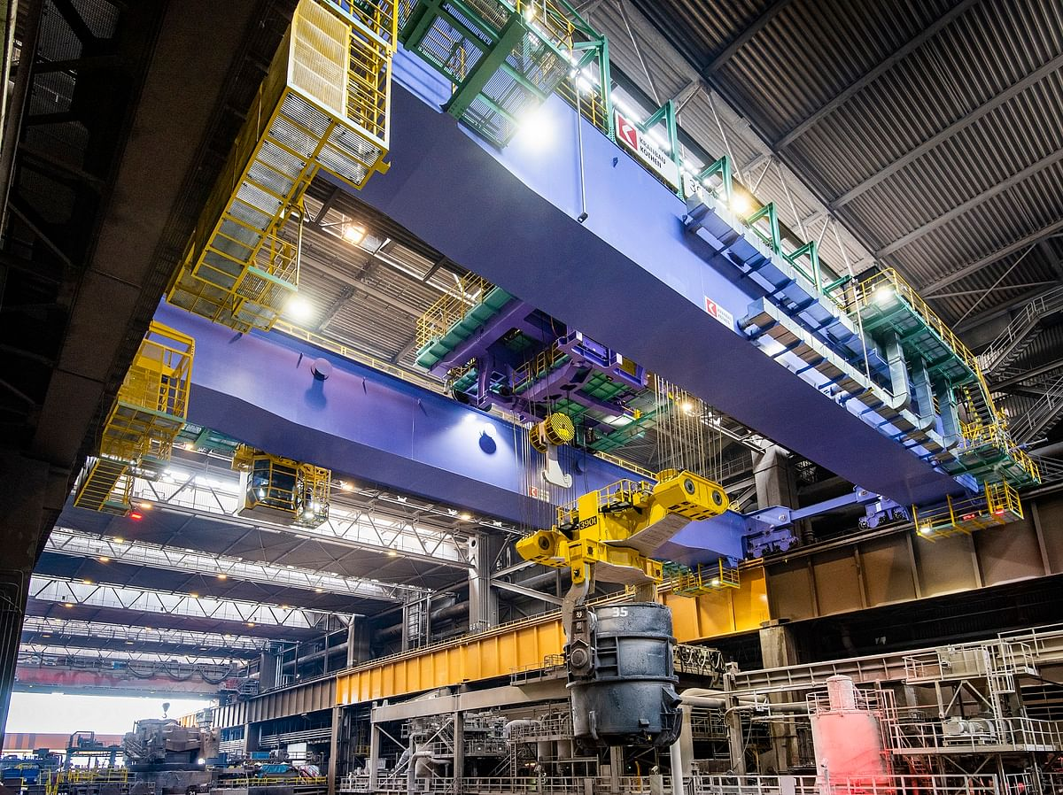 Thyssenkrupp's Largest Steel Mill Back in Operation