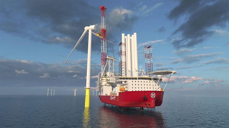 Wärtsilä Solutions for OHT's Wind Turbine Installation Vessel