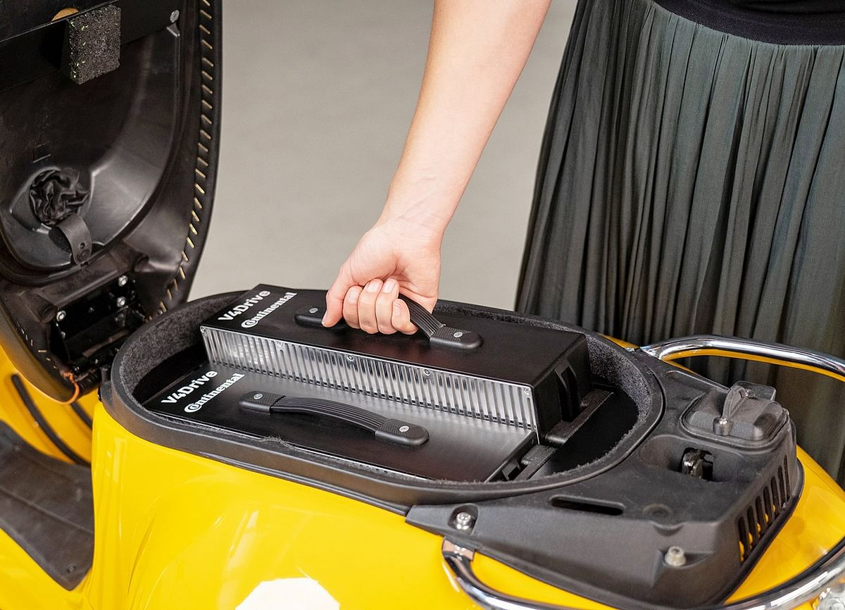Continental & Varta Powerful Battery for Electric Two Wheelers