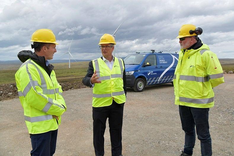 SSE Renewable Opens Gordonbush Extension Wind Farm