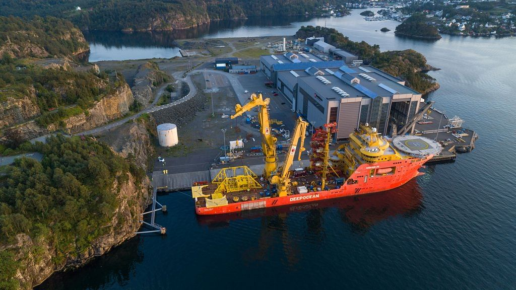Subsea Pump Gives a Boost to Vigdis Oil Field in North Sea