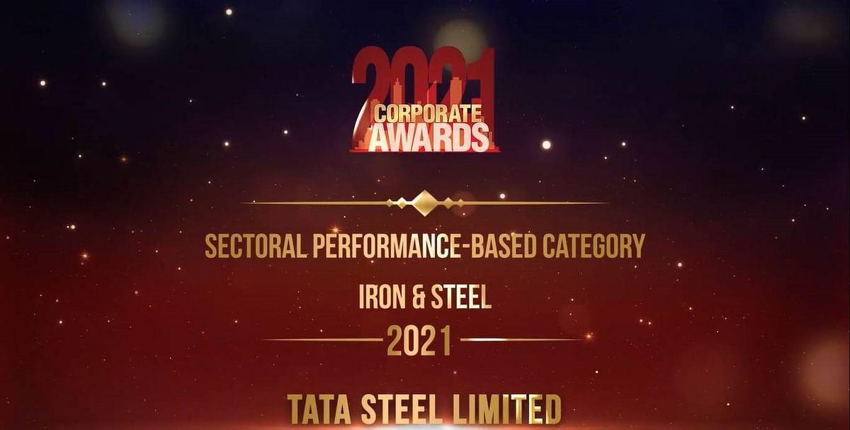 Tata Steel Wins Dun & Bradstreet Award in Iron & Steel Category
