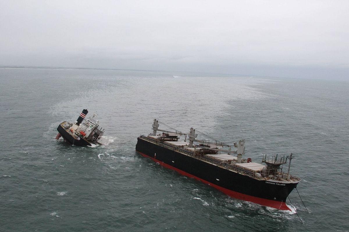 Grounding of Wood-Chip Carrier Crimson Polaris off Hachinohe