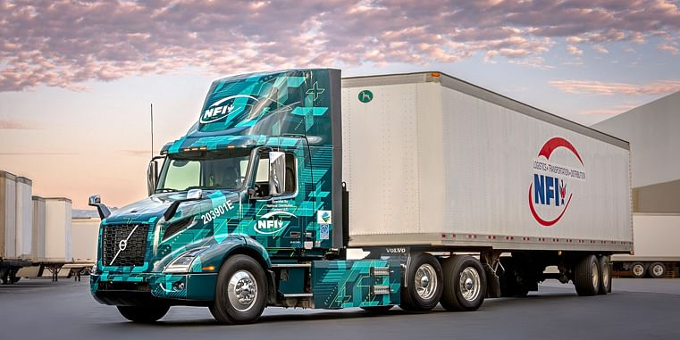 Volvo Trucks & NFI Join for Run on Less Electric