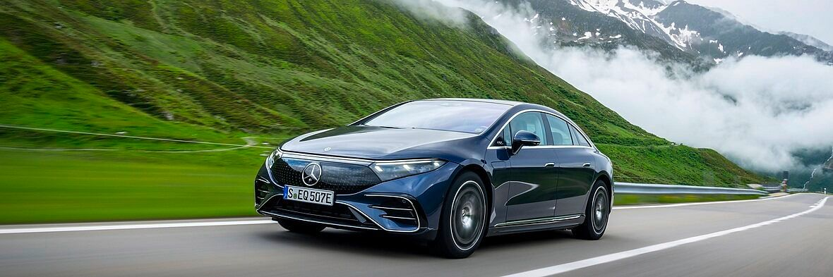 Mercedes EQ Electric Vehicle in Luxury Class