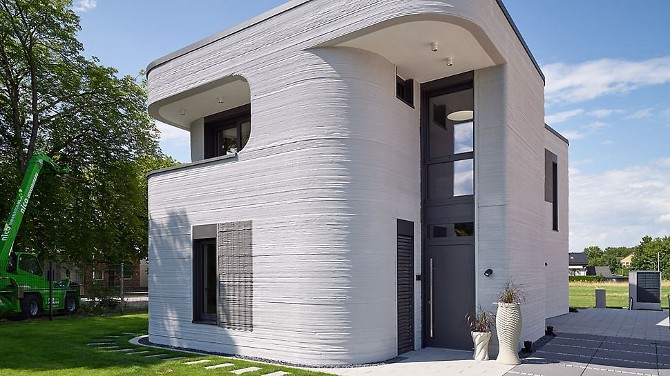 First 3D Printed House Opens in Beckum in Germany