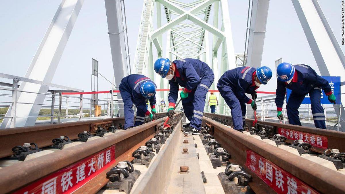 China Russia Tongjiang Nizhneleninskoye Rail Bridge to Start Trial