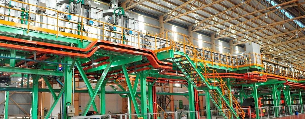 Supplies Start for NLMK's New Hot Dip Galvanizing Line