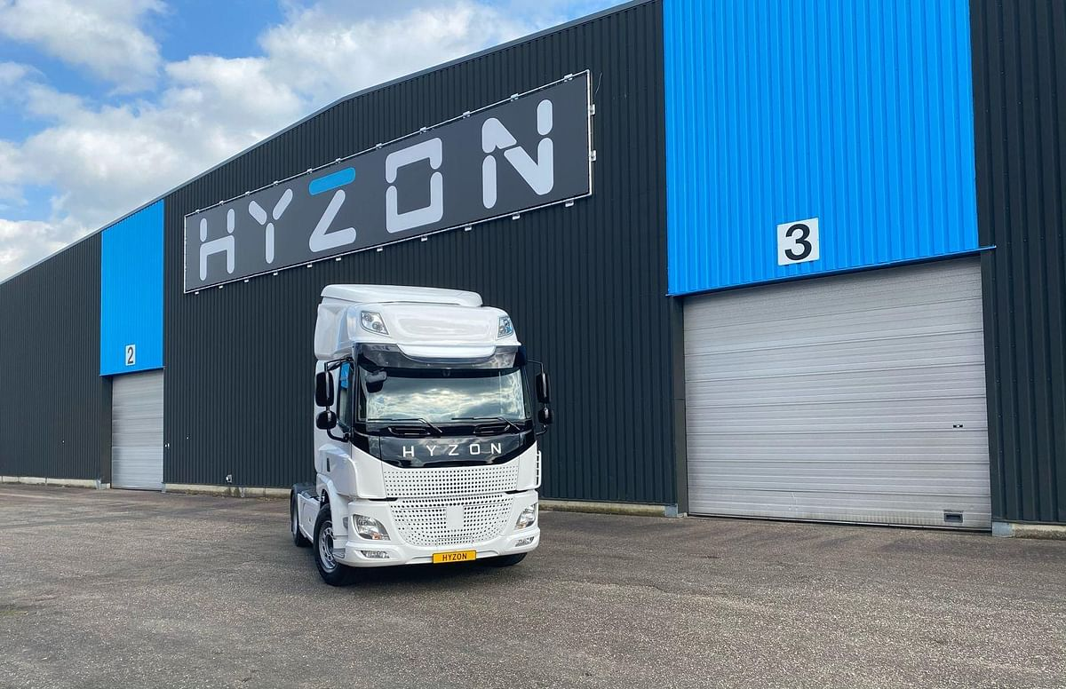 Hyzon Starts Shipping Hydrogen Fuel Cell Trucks to Clients