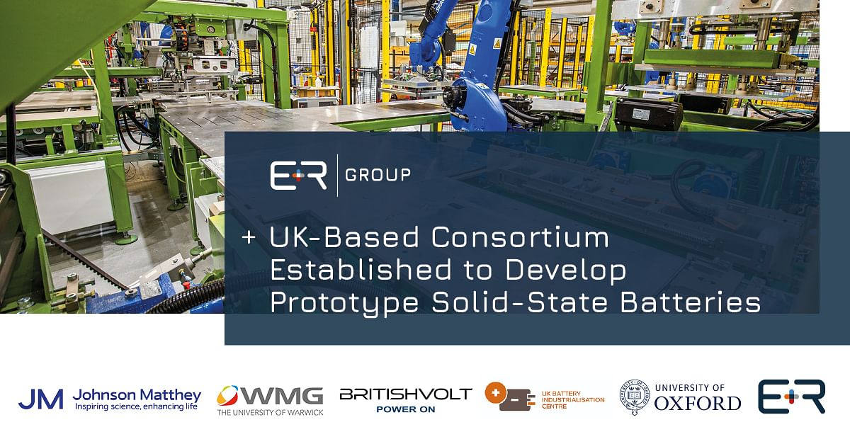 Consortium to Develop Prototype Solid State Batteries in UK